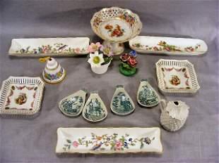 Lot of misc. porcelain, Aynsley, Royal Staffordshir