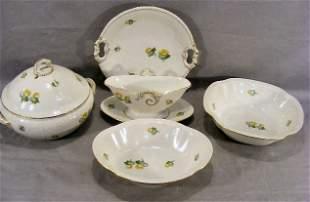 Bing & Grondahl Erantis pattern - Covered bowls, c
