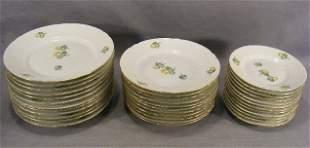 """Bing & Grondahl Erantis pattern - 11 - 7.5"""" plates"""