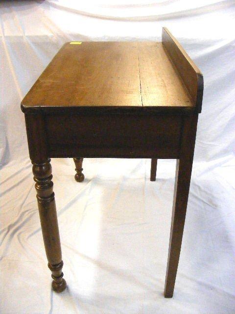 """175D: Antique pine writing desk, 33"""" high, 34"""" long - 2"""