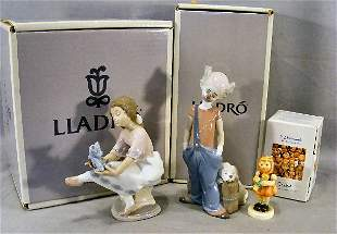 Lot of two Lladro figurines, 6245 & 7620 together