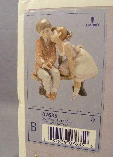 16Q: Lladro figurine #7635 first quality mint in box - 4
