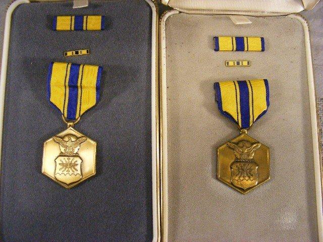 88A: Military merit medals, 8pcs w/ boxes. - 2