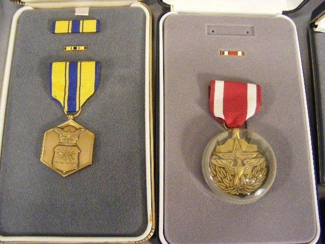 88A: Military merit medals, 8pcs w/ boxes. - 4