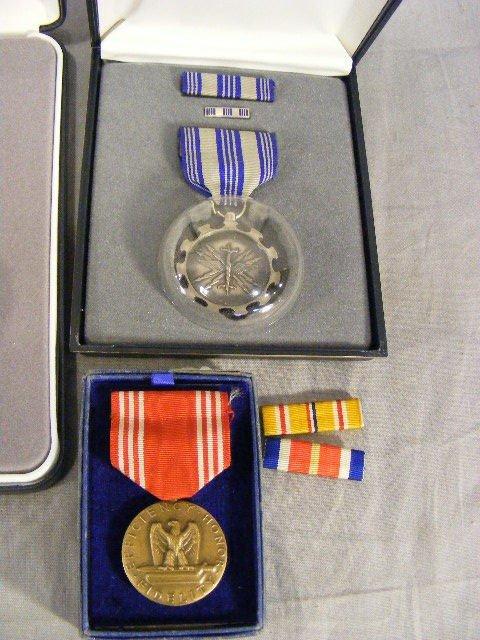 88A: Military merit medals, 8pcs w/ boxes. - 5