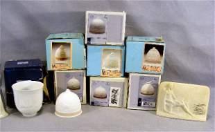 Lot including 7 Lladro bells, Lladro Collectors Soc