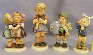 Lot of four Hummel figurines, excellent condition,