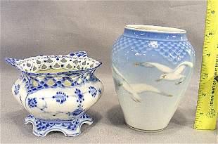 Royal Copenhagen Full Lace sugar bowl and Bing &