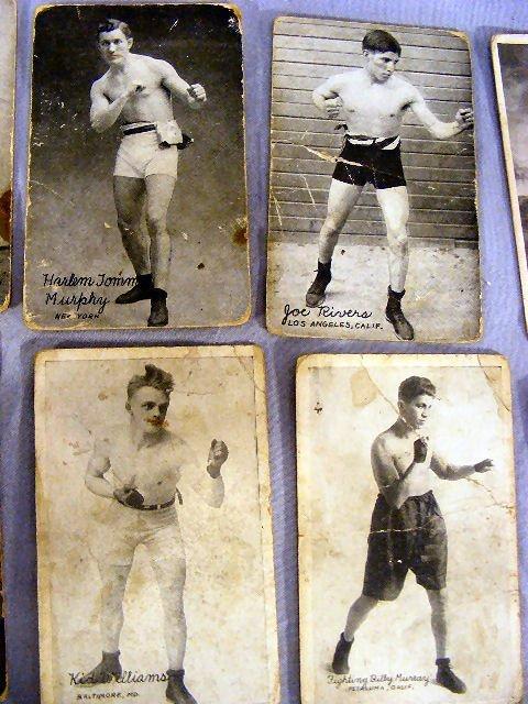 220V: Collection of Boxing postcards, 25pcs. Circa 1920 - 4