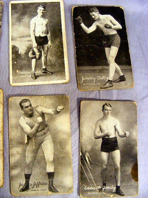 220V: Collection of Boxing postcards, 25pcs. Circa 1920 - 5