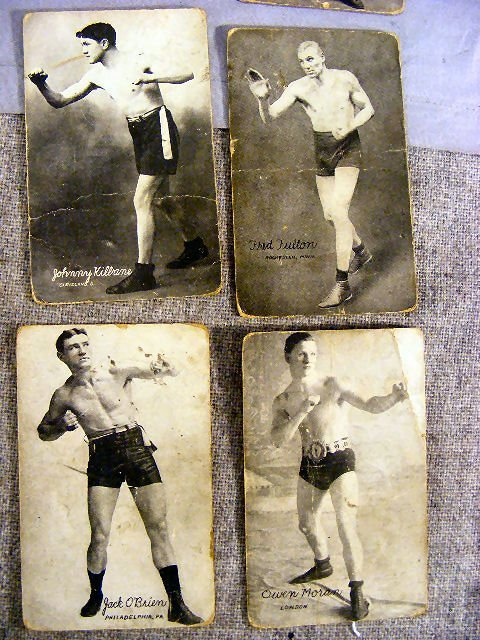 220V: Collection of Boxing postcards, 25pcs. Circa 1920 - 6