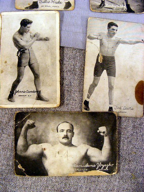 220V: Collection of Boxing postcards, 25pcs. Circa 1920 - 7
