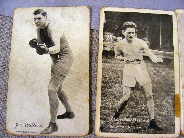 220V: Collection of Boxing postcards, 25pcs. Circa 1920 - 8