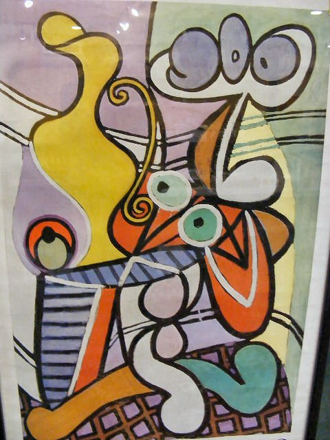 250X: Picasso poster, Museum of Modern Art 1980. Very g - 2