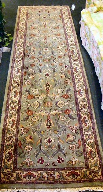 """60P: Oriental rug, Kashan runner, 2'7"""" X 8'10"""""""