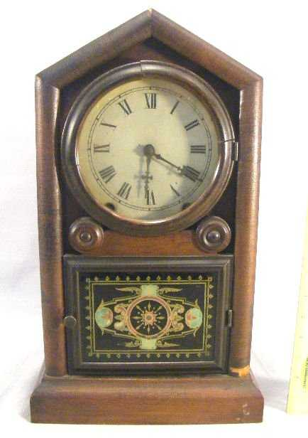 3g New Haven Clock Company Gothic Gem Clock Original