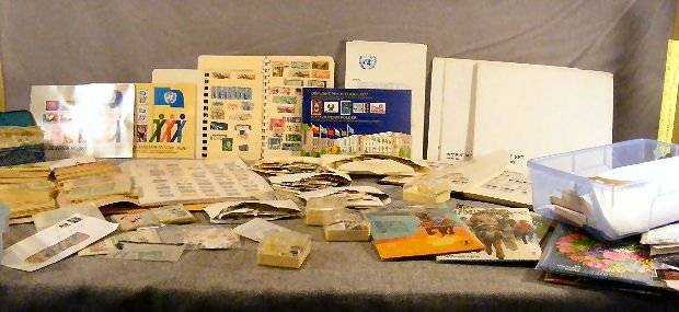 1F: Large lot of misc. U.S. postage stamps and some for