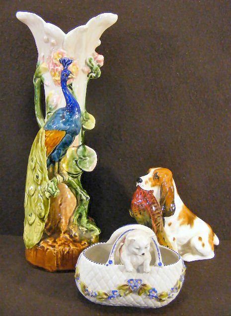 10L: Lot including Royal Doulton Cocker Spaniel with Ph