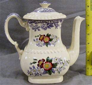 Copeland Spode Mayflower teapot, excellent conditi