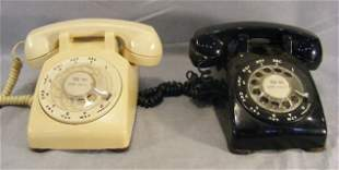 Two Bell System Westinghouse telephones