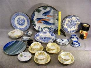 Large lot of misc. pottery & porcelain including