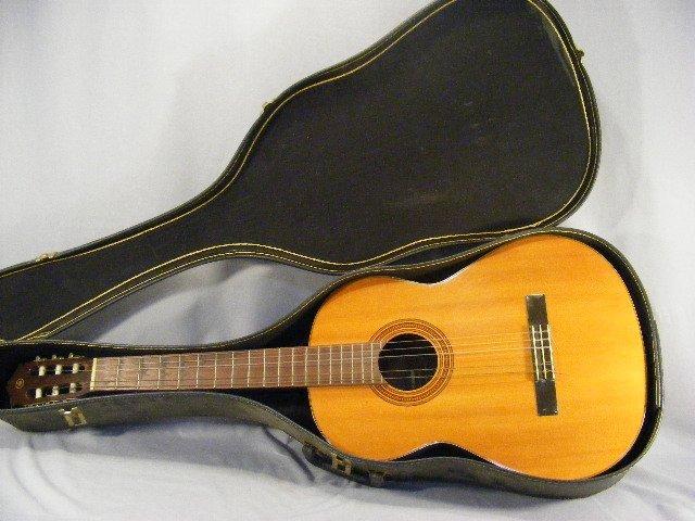 56L: Yamaha G-50A guitar in case