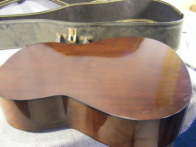 56L: Yamaha G-50A guitar in case - 4