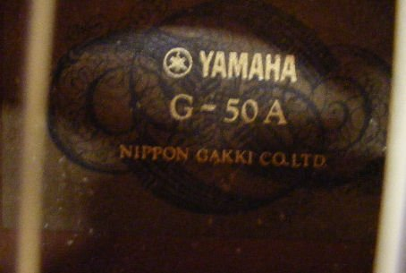 56L: Yamaha G-50A guitar in case - 5