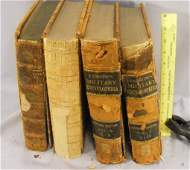 135K: Lot of military books, Farrow's Military Encyclop