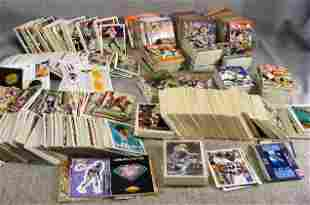 Large assortment of football cards. Topps, Bowman,