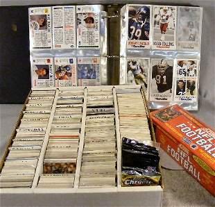 Football cards, Score, Topps, Game Day, Fleer, etc.