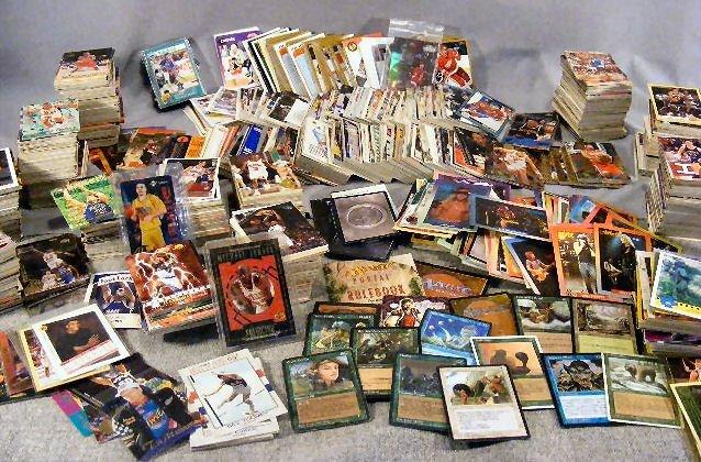 3U: Sports cards, Hockey, Basketball, Rockcards (AC/DC,