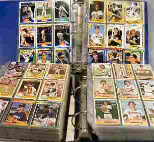 3 albums of baseball cards, 1970's, 80's & 90's. To