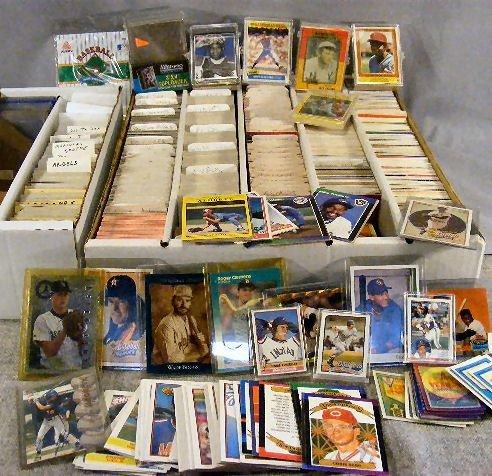 5U: Baseball cards, 1970's, 80's & 90's. Fleer, Topps,