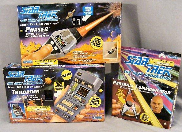 7G: 3pcs. Star Trek Enterprise collectors editions by P