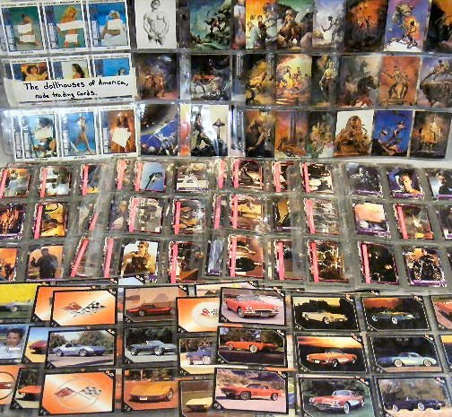 11G: Trading cards. 1991 Vette Set by Collect-A-Card Co