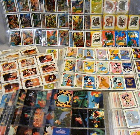 12G: Disney Collector cards by Impel, (Favorite Stories