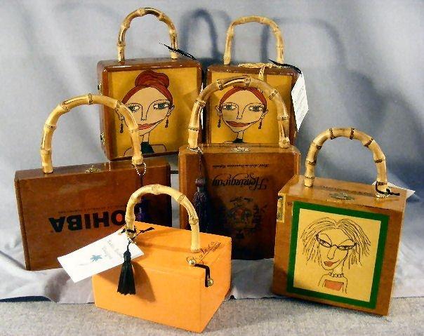 14L: Cigar box purses by Katie Bisbee Designs, creative