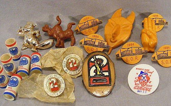 23D: Vintage 1960's Boy Scout lot. Slides, 7 Nealslides