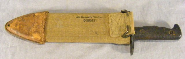 "14E: WWI Bolo knife marked ""U.S. Mod. 1917 C.T."" and ""P - 2"