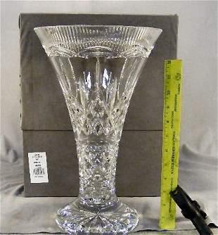"Large Waterford crystal Lismore 14"" Statement vase"