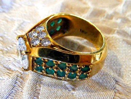 167A: 2.52 Carat diamond ring, (VVS1 clarity) 18k gold - 2