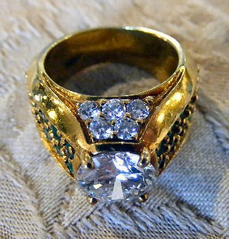 167A: 2.52 Carat diamond ring, (VVS1 clarity) 18k gold - 3