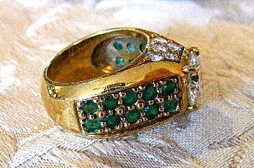 167A: 2.52 Carat diamond ring, (VVS1 clarity) 18k gold - 4