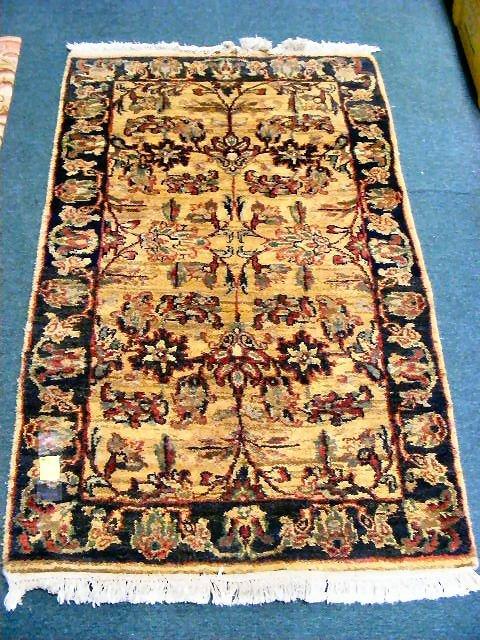 22B: Oriental rug 3' X 5', very good condition