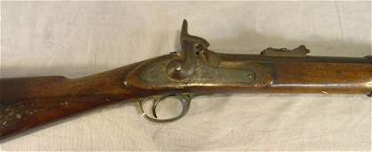 107E: Civil War era Tower musket dated 1862, mechanical