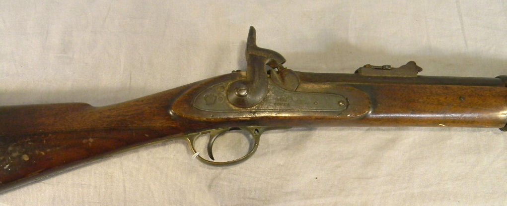 107E: Civil War era Tower musket dated 1862, mechanical