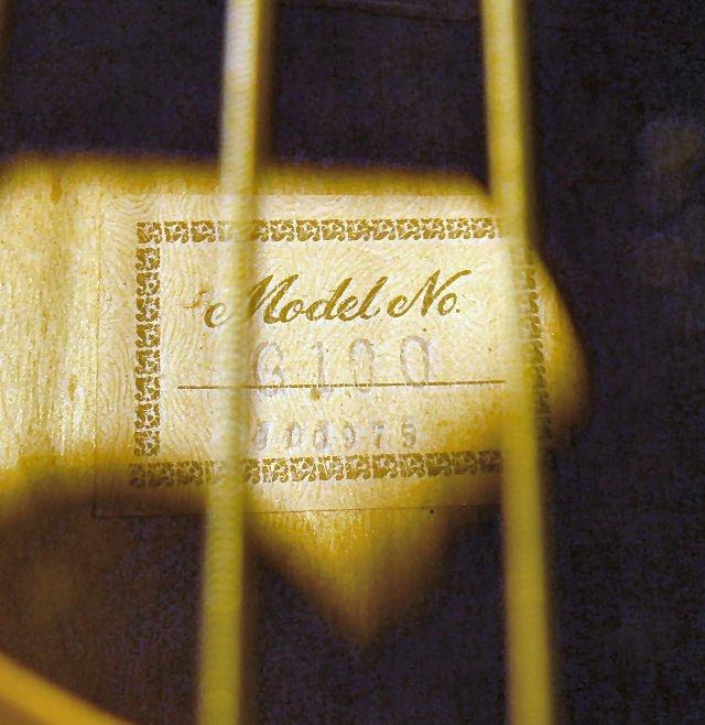 265B: Acoustic guitar, made in Korea, model G-100, one  - 7