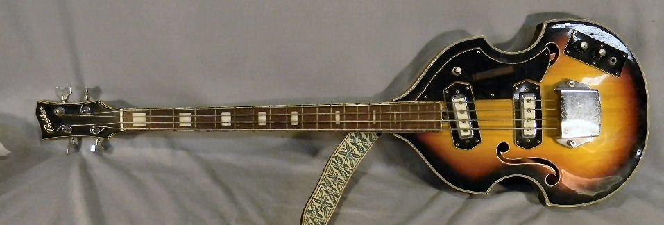 271B: Estate Royal Artist Bruno electric bass guitar, s - 2