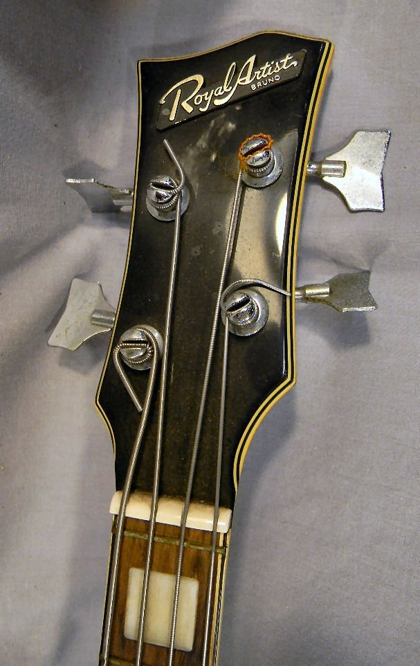 271B: Estate Royal Artist Bruno electric bass guitar, s - 3